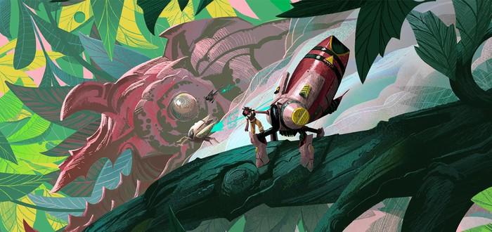 Анонсирована экшен-адвенчура Stonefly — собирайте своего меха и сражайтесь с жуками