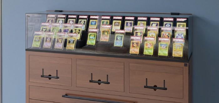 Британская Collectors' Cabinets предлагает витрины и стенды для хранения карточек из настольных ККИ