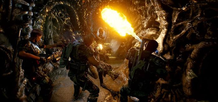 Состоялся анонс кооперативного шутера Aliens: Fireteam