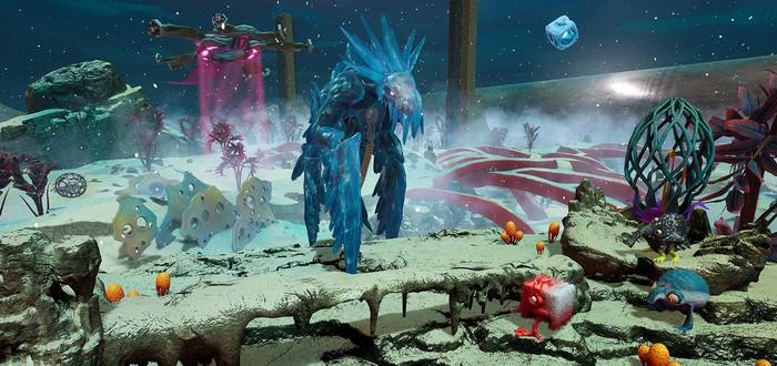 10 минут геймплея из беты The Eternal Cylinder — смесь Spore и сурвайвала