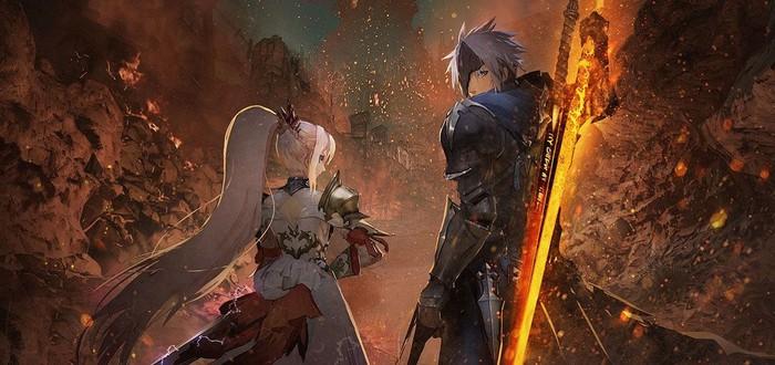 Огонь и война в трейлере ролевой игры Tales of Arise