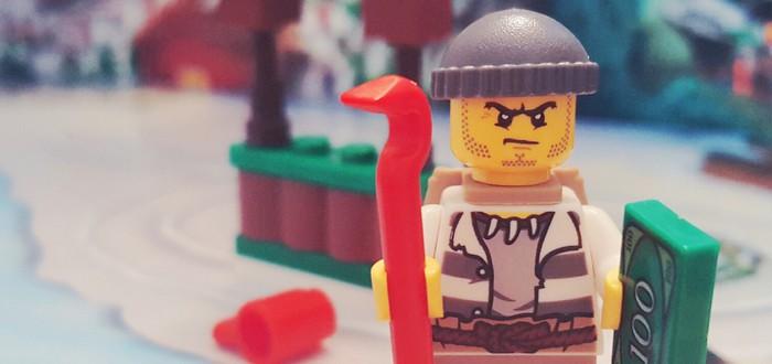 Мужчина украл LEGO на 7500 долларов
