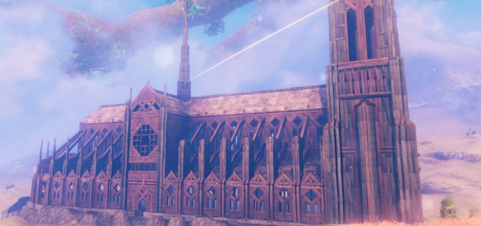 Игрок в одиночку построил Нотр-Дам в Valheim