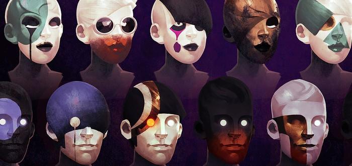 Очень много скриншотов и артов Deathloop от Gameinformer