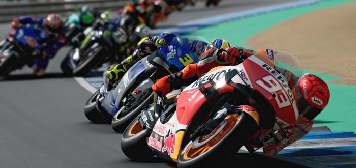 Круговой заезд в первом геймплейном трейлере рейсинга MotoGP 21