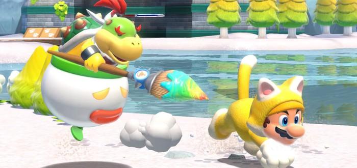 EMEAA-чарт: Super Mario 3D World + Bowser's Fury стала самой продаваемой игрой февраля