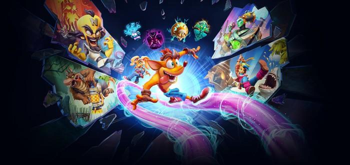 Crash Bandicoot 4: It's About Time выйдет на PC 26 марта