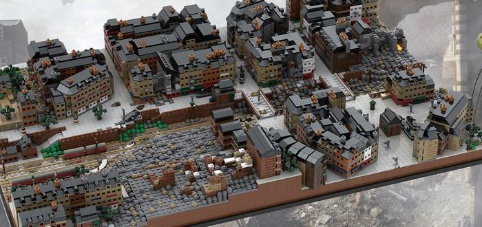 Фанат Battlefield создает потрясающие диорамы карт шутера из LEGO