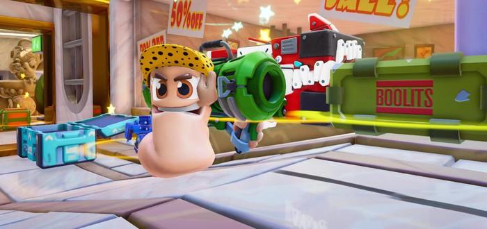 Worms Rumble выйдет на Xbox и Switch в этом году