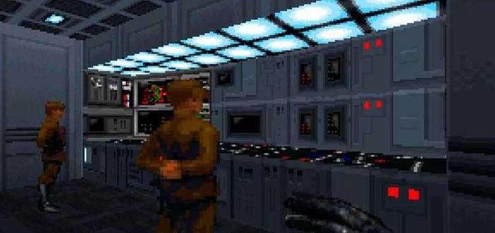 Новый геймплей фанатского ремейка Star Wars: Dark Forces