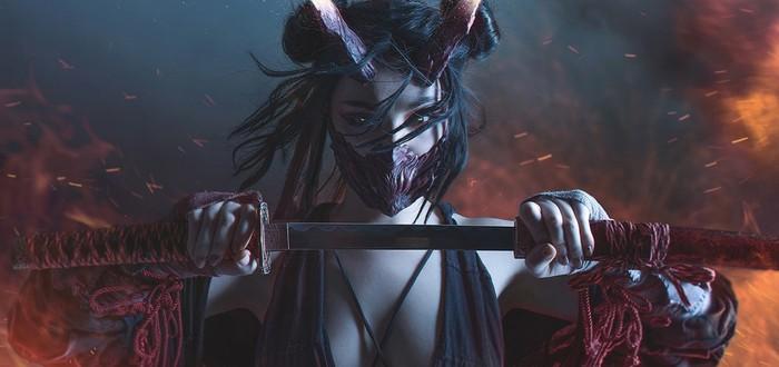 Пятничный косплей: Cyberpunk 2077, демон-самурай и развязный эльф