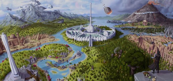 Моддер добавил в Valheim весь континент Тамриэль