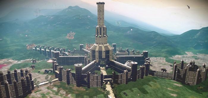 В No Man's Sky воссоздали Имперский город из Oblivion