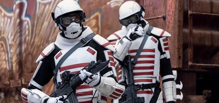 """Кто такие солдаты в белой броне из """"Ходячих мертвецов"""""""