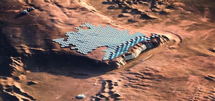 Ученые: Первый город на Марсе построят к 2100 году