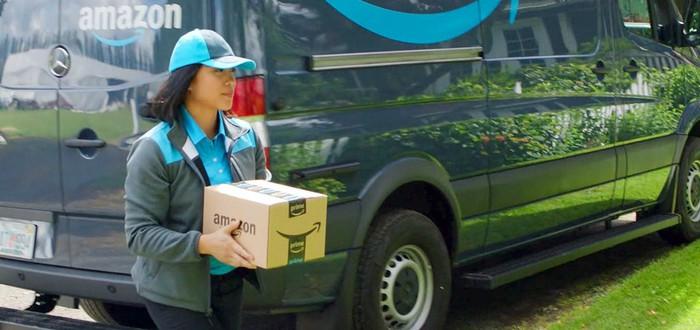 Amazon отслеживает курьеров с помощью камер в фургонах
