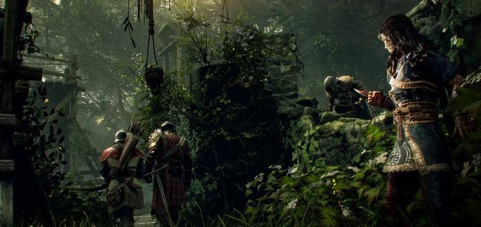 Кладбище с ордой рыцарей в новом трейлере Hood: Outlaws & Legends