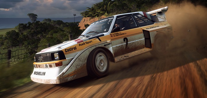 У серии DiRT Rally появилась своя гоночная команда