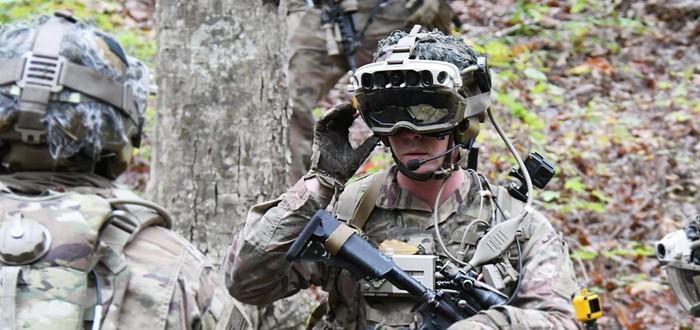 Microsoft поставит армии США 120 тысяч AR-девайсов на базе HoloLens