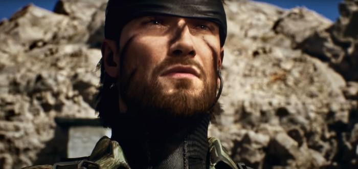 Снейк со змеей во рту — трейлер фанатского ремейка Metal Gear Solid 3