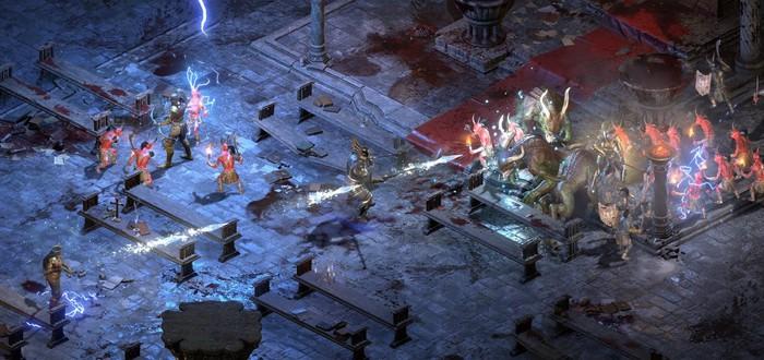 Видеосравнение с оригиналом и масса геймплея Diablo 2 Resurrected