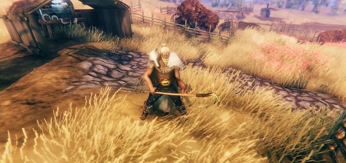 Игрок в Valheim снимает забавную рекламу своей внутриигровой фермы
