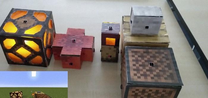 Фанаты Minecraft создали реальные блоки красного камня для выполнения разных функций