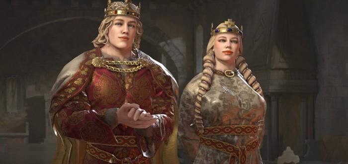Paradox добавит поддержку однополых модов в Crusader Kings 3 со следующим крупным обновлением