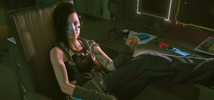 В Cyberpunk 2077 нашли ранние модели Джуди, Панам, Смэшера и других героев