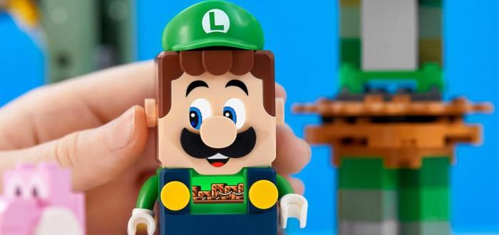 LEGO представила набор с Луиджи из серии Super Mario