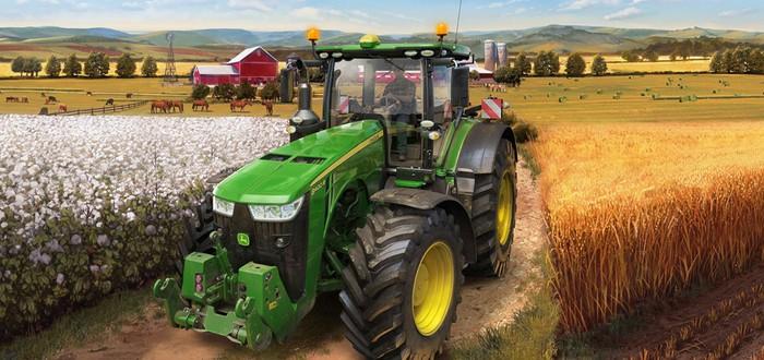 Анонсирующий трейлер Farming Simulator 22