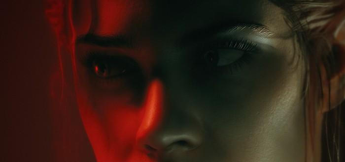 Увидеть лицо преступника в отражении глаза можно, но пока только в Control с трассировкой лучей