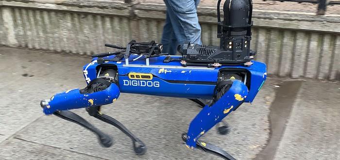 Полиция Нью-Йорка отказалась от робопса Boston Dynamics