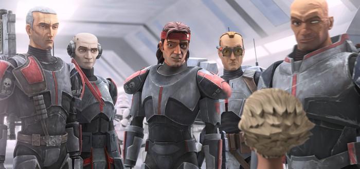 Члены отряда 99 в новом трейлере мультсериала Star Wars: The Bad Batch