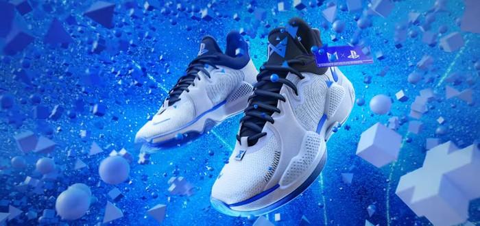 Nike анонсировала кроссовки в расцветке PS5