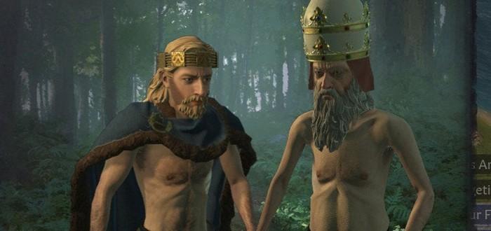 Игрок в Crusader Kings 3 победил Папу Римского в дуэли на топорах