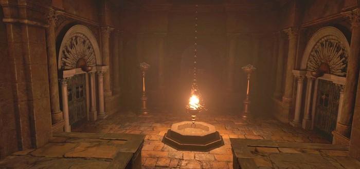 Гайд Resident Evil Village — головоломка на берегу реки у замка Димитреску