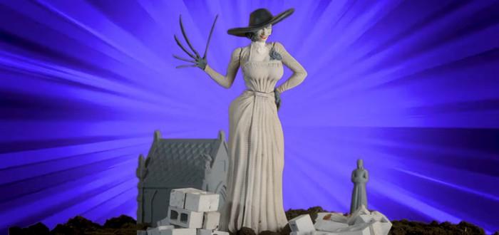 Энтузиасты сделали забавную рекламу фигурки Леди Димитреску