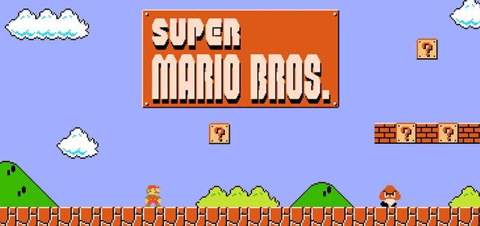 Стримерша первый раз играет в Super Mario Bros.