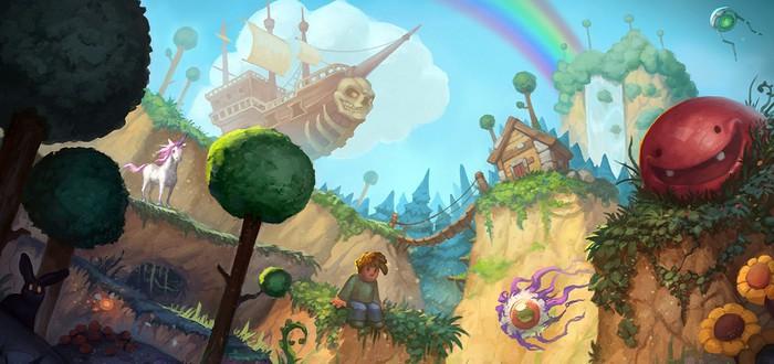 В Terraria добавили новый мир в честь 10-летия игры