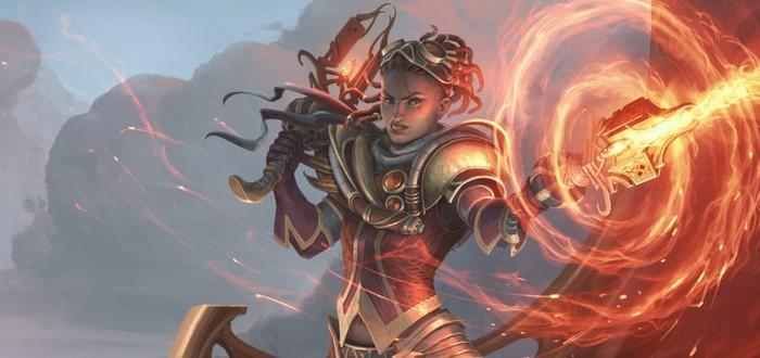 Уничтожение врагов огнем в трейлере нового класса Magic: Legends