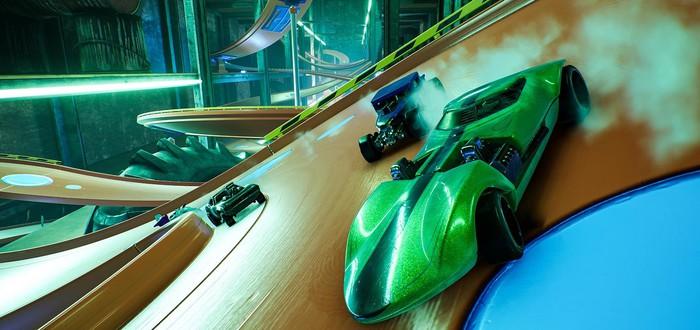 Гонки на маленьких машинках в новом трейлере Hot Wheels Unleashed
