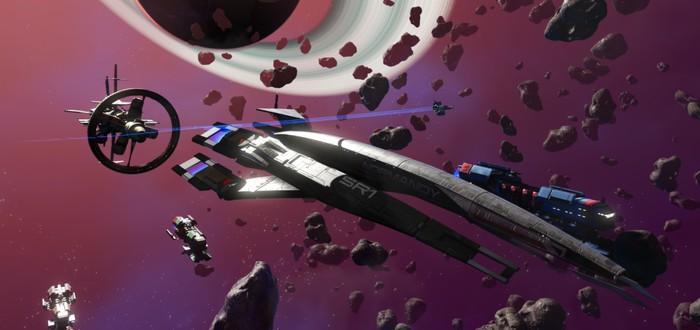 """В No Man's Sky можно получить """"Нормандию"""" из Mass Effect до 31 мая"""