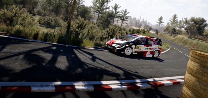 Гонки в Хорватии в новом трейлере WRC 10