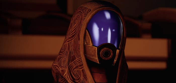 Тали — самая популярная напарница Mass Effect Legendary Edition
