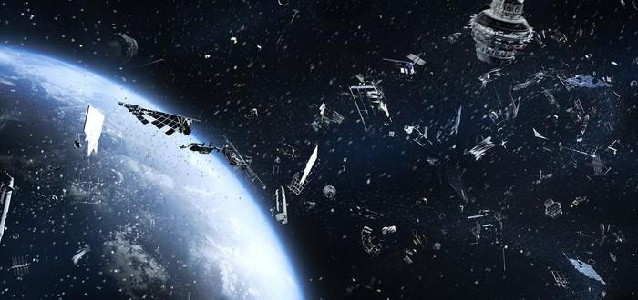 Космический мусор пробил дыру в одном из манипуляторов МКС