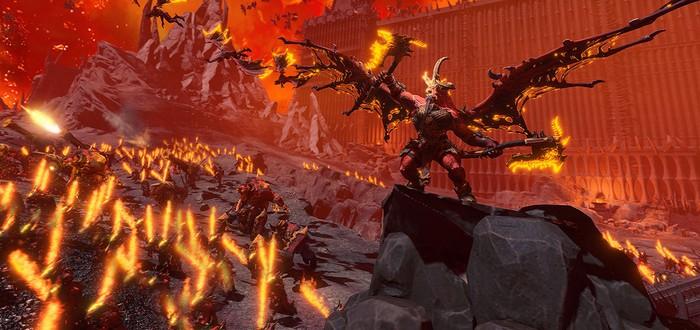 Армия Кровавого бога в трейлере Total War: Warhammer 3