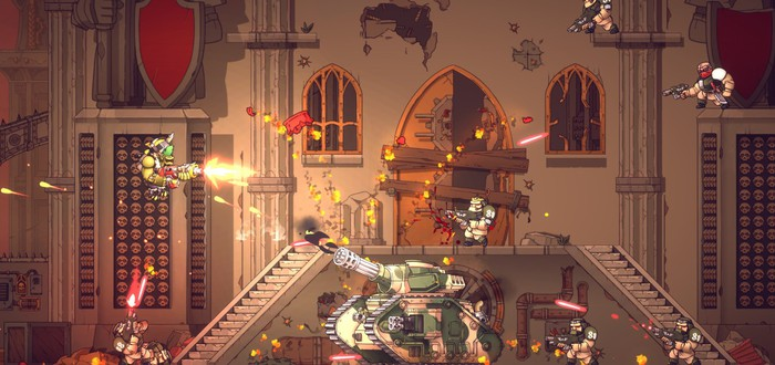 Орки против всех в трейлере шутемапа Warhammer 40,000: Shootas, Blood & Teef