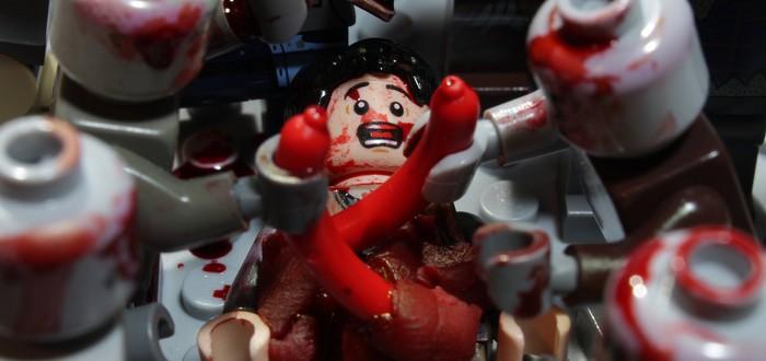 """Skybound и LEGO объединились для создания детских комиксов по """"Ходячим мертвецам"""""""