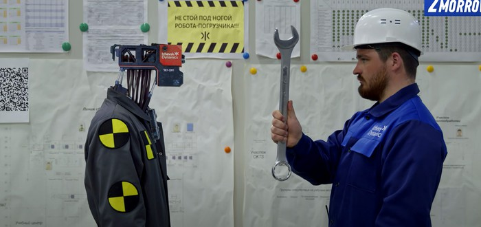 Россию заполонили роботы в новом ролике от создателей космопоезда